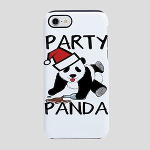 Funny party panda design iPhone 7 Tough Case