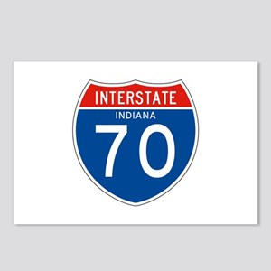 Interstate 70 - IN Postcards (Package of 8)