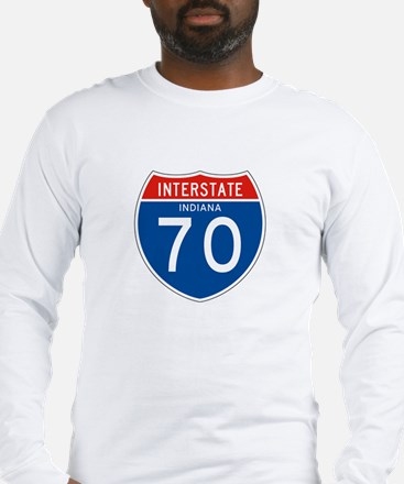 Interstate 70 - IN Long Sleeve T-Shirt