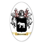 Benjaminov Sticker (Oval 10 pk)