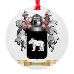 Benjamini Round Ornament