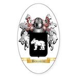 Benjamini Sticker (Oval 10 pk)