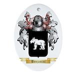 Benjamini Ornament (Oval)