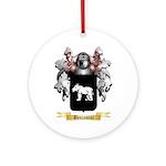 Benjamini Ornament (Round)