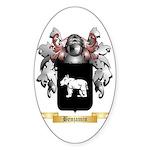 Benjamin Sticker (Oval 50 pk)