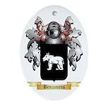 Benjamens Ornament (Oval)