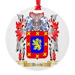 Benito Round Ornament