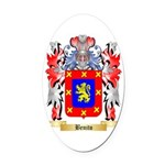 Benito Oval Car Magnet