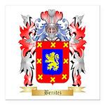 Benitez Square Car Magnet 3