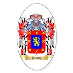 Benitez Sticker (Oval 50 pk)