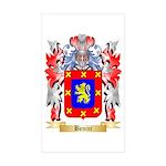Benini Sticker (Rectangle 50 pk)
