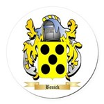 Benick Round Car Magnet
