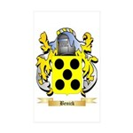 Benick Sticker (Rectangle 50 pk)