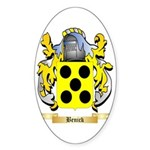 Benick Sticker (Oval 50 pk)