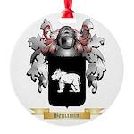Beniamini Round Ornament