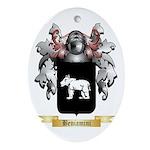 Beniamini Ornament (Oval)