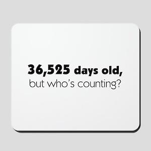 100th Birthday Mousepad