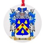 Benfield Round Ornament