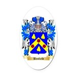 Benfield Oval Car Magnet