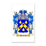 Benfield Rectangle Car Magnet