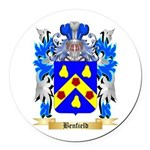 Benfield Round Car Magnet
