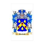 Benfield Sticker (Rectangle 50 pk)