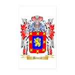 Benezit Sticker (Rectangle 50 pk)