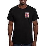 Beneze Men's Fitted T-Shirt (dark)