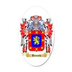 Beneyto Oval Car Magnet