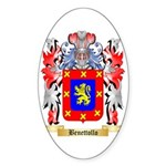 Benettollo Sticker (Oval 10 pk)