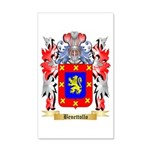 Benettollo 35x21 Wall Decal