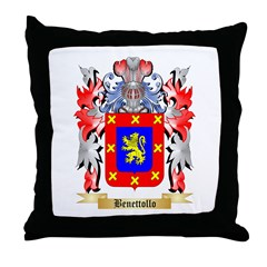 Benettollo Throw Pillow