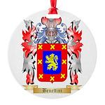 Benettini Round Ornament
