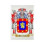 Benettini Rectangle Magnet (10 pack)