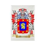 Benettini Rectangle Magnet (100 pack)