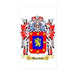 Benettini Sticker (Rectangle 10 pk)
