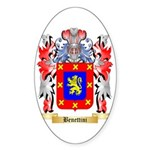 Benettini Sticker (Oval 50 pk)