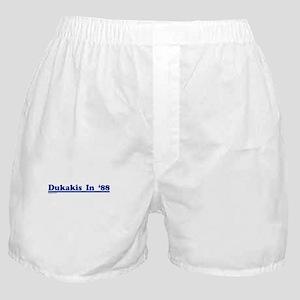 Dukakis '88 Boxer Shorts