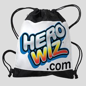 herowiz branded tshirt Drawstring Bag