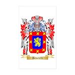 Benetelli Sticker (Rectangle 50 pk)