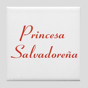 Princesa Salvadoreña Tile Coaster