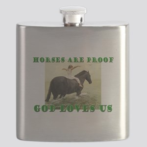 Proof God Loves us Flask
