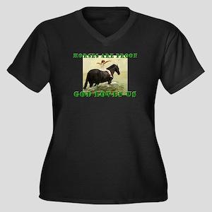 Proof God Loves us Plus Size T-Shirt