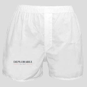 Deplorable Est 2017 Boxer Shorts