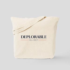 Deplorable Est 2017 Tote Bag