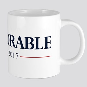 Deplorable Est 2017 20 oz Ceramic Mega Mug