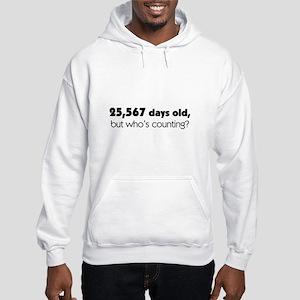70th Birthday Hooded Sweatshirt