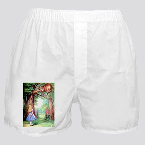Alice & The Cheshire Cat Boxer Shorts