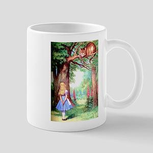 Alice & The Cheshire Cat Mug