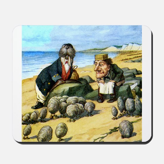 The Carpenter and the Walrus Mousepad